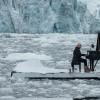 Buzulların üzerinde piyano resitali