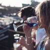 Mavi şarap üretildi