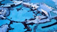 İzlanda'nın dünya çapında üne sahip termal kaplıcası